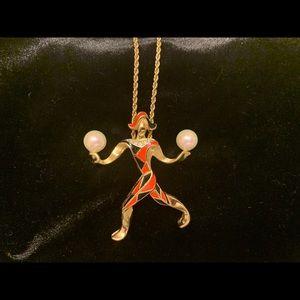 Vintage Christian Dior Necklace COURT JESTER